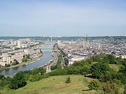 Plan De La Ville De Rouen