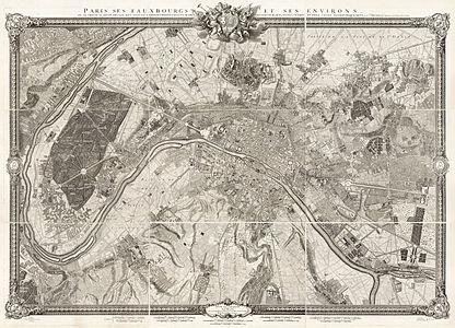 Roussel, Paris, ses fauxbourgs et ses environs, 1731.jpg