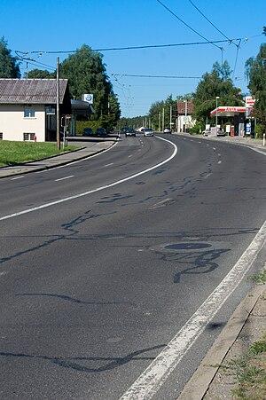 Épalinges - Road between Bern and Lausanne at Épalinges