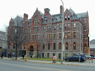 Harold Innis - The original home of McMaster University at 273 Bloor Street West, Toronto
