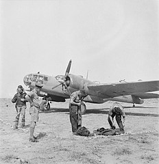 Royal Air Force- Operations in the Middle East and North Africa, 1939-1943; Royal Air Force, 39 Squadron CBM2083.jpg