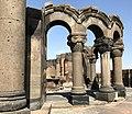 Ruins of Zvartnots Chathedral.jpg