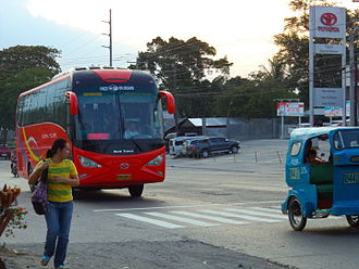 Rural Transit of Mindanao - A Rural Tours 263 bound for General Santos. Her number, 263 indicates the prefix number 2, which is assigned for Yacapin Base.