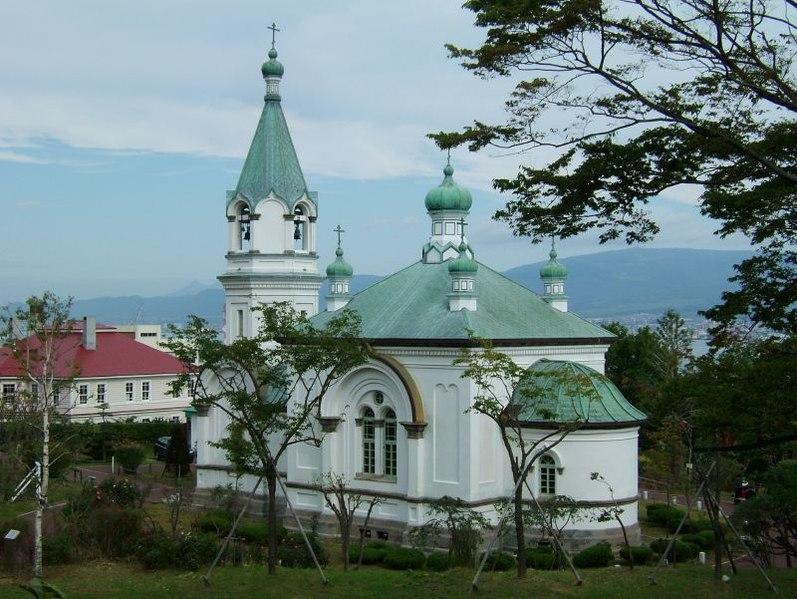 Церковь Воскресения Христова ( Shu-no fukkatsu seidō, 主の復活聖堂 ), Хакодате, 1859.