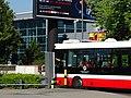 Ruzyně, letiště, autobus u závory (01).jpg