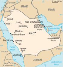 karte saudi arabien Saudi Arabien – Wiktionary karte saudi arabien