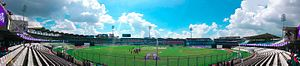 Sher-e-Bangla National Cricket Stadium - Image: SBNCS Panorama