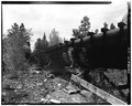 SIDE VIEW-1980 - Power Flume No. 1, Tacoma, La Plata County, CO HAER COLO,33-TAC.V,3-11.tif