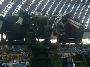 Sora 122mm - SORA 122mm autoloader at Partner 2013 arms fair.