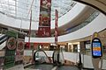 SZ 深圳 Shenzhen 福田 Futian 綠景佐阾虹灣購物中心 LuYing Hongwan Meilin 2011 Shopping Mall interior escalators banners sign glass transpareMay 2017 IX1.jpg