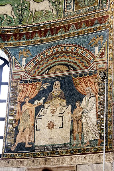 File:Sacrifices of Abel, Melchisedec and Abraham - Sant'Apollinare in Classe - Ravenna 2016.jpg