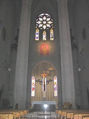 Temple Expiatori del Sagrat Cor - Inside the temple