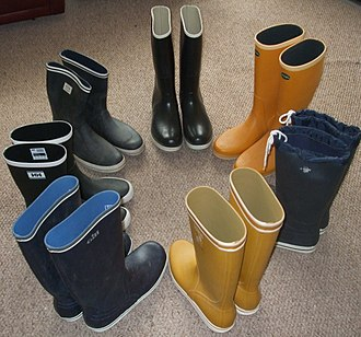 Wellington boot - Clockwise from top: Sperry Top-Sider, Le Chameau, Jeantex, Aigle, Gill, Helly-Hansen and Newport short and tall rubber  sailing wellingtons.