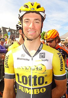 Tom Van Asbroeck Belgian road cyclist
