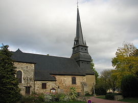 The church of Saint-Grégoire
