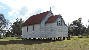 Dalveen, Queensland - Saint Barnabas Anglican Church, 2015