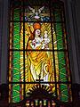 Saint Bartholomew church. Listed 5694. Stained glass 03. - Gyöngyös, Hungary.JPG