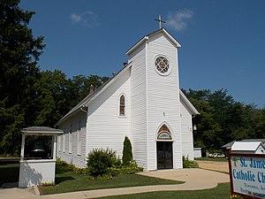 Toronto, Iowa - Saint James Catholic Church