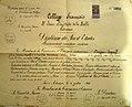 Saint Jean Baptiste de la Salle School Certificate Dragan Tapkov.jpg