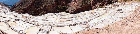 Salineras de Maras, Maras, Perú, 2015-07-30, DD 19-23 PAN.JPG