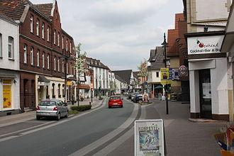 Salzkotten - Street in Salzkotten