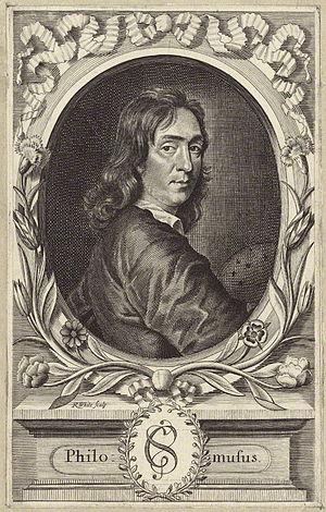 Samuel Gilbert - Samuel Gilbert, 1683 engraving