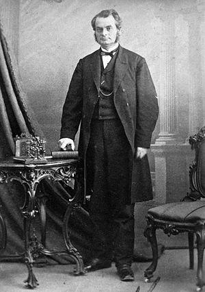 English: Photograph, Samuel L. Tilley, politic...