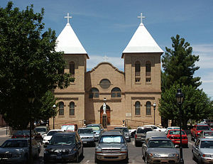 Mesilla, New Mexico - Basilica of San Albino, on the Mesilla plaza