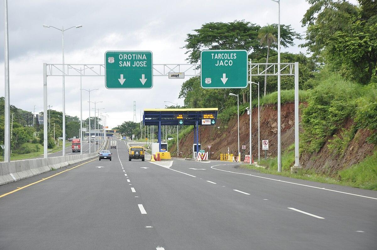 Ruta 27 costa rica wikipedia la enciclopedia libre for Ruta del mueble