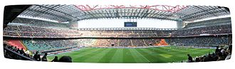 1992 Supercoppa Italiana - Image: San Siro wide