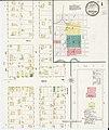 Sanborn Fire Insurance Map from Spencer, Clay County, Iowa. LOC sanborn02833 001-1.jpg