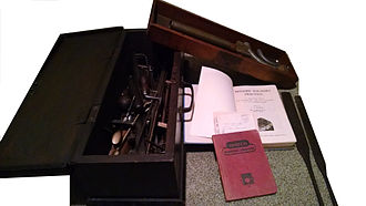 Sand casting - Sand Molding tools and books used in Auckland and Nelson New Zealand between approximately 1946 and 1960