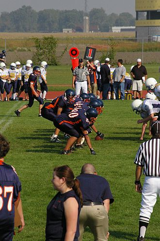Football Canada - Image: Sandwich Sabres football