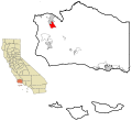 Santa Barbara County California Incorporated and Unincorporated areas Orcutt Highlighted.svg