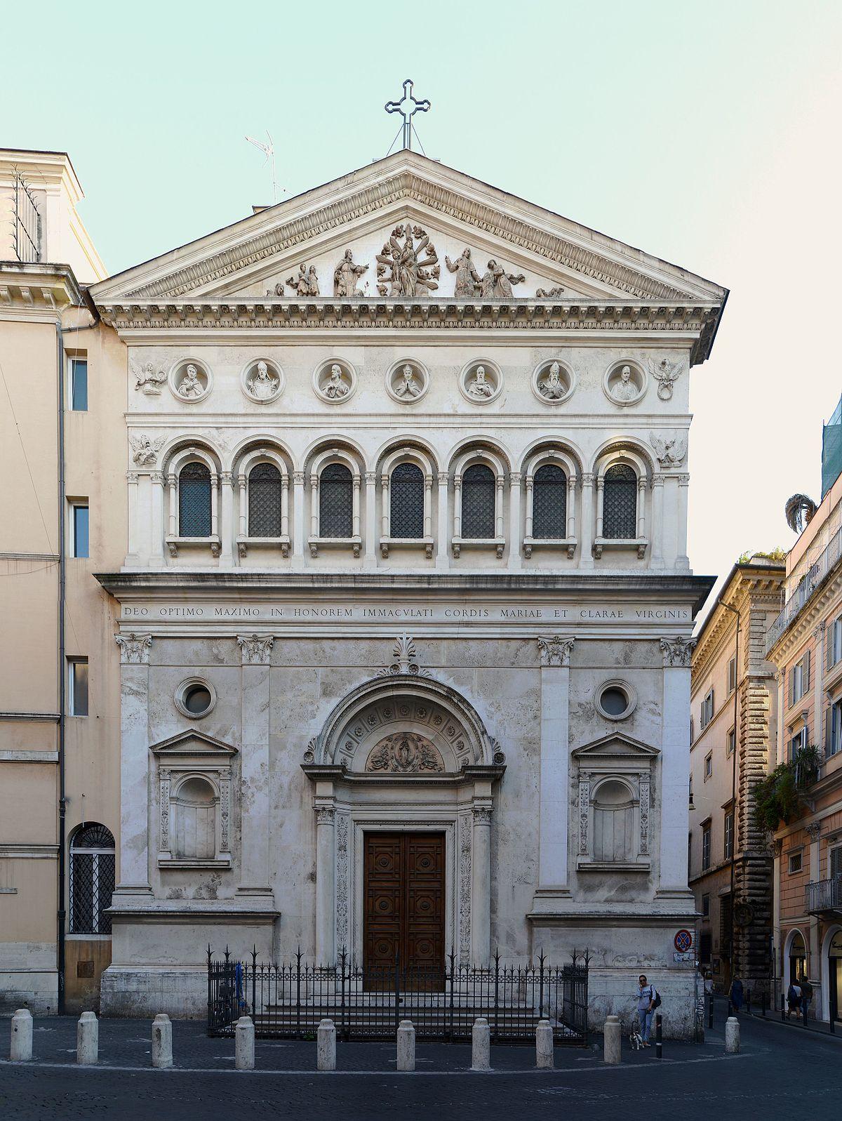 Santa Chiara Rome Wikipedia