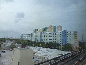 Santa Clara station (Metrorail) - Santa Clara Apartments TOD