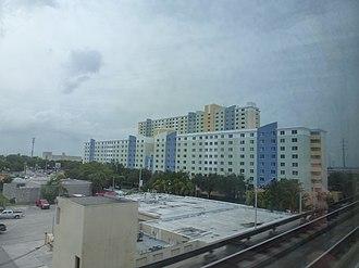 Santa Clara station (Metrorail) - The Santa Clara Apartments, a transit-oriented development