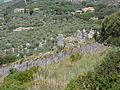 Santuario di Monte Sant'Angelo. Le Mura - La torre che conserva meglio gli alzati originali.JPG