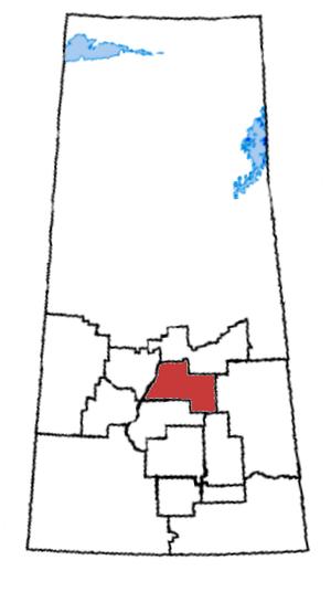 Saskatoon—Humboldt - Saskatoon—Humboldt in relation to other Saskatchewan federal electoral districts