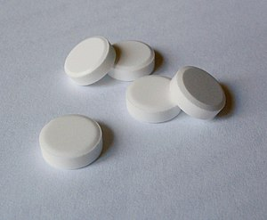 Tissue salt tablets