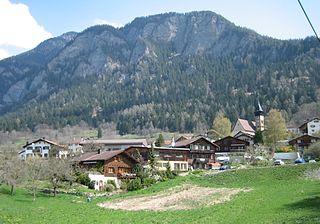 Scharans Place in Graubünden, Switzerland