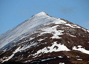 Schiehallion - The north-west ridge of Schiehallion in April