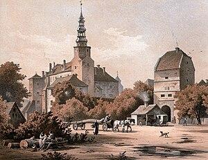 Duchy of Bernstadt - Bernstadt Castle, Alexander Duncker (1813–1879)