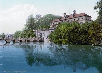 Bad Pyrmont - Image: Schloss Pyrmont 1900
