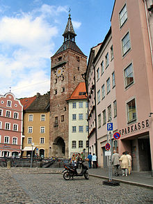 schmalzturm landsberg am lech wikipedia. Black Bedroom Furniture Sets. Home Design Ideas
