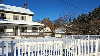 Kitchener, Ontario - Schneider Haus, built in 1816 and now a museum and National Historic Site