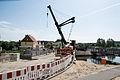 Schwaan Bau der Warnowbrücke Juni 2014 - 3.jpg