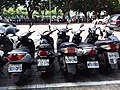 Scooters parking in front of TTV Building 20190813.jpg