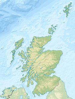 Scotland relief location map