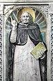 Scuola di donatello, ancona con madonna col bambino tra i ss. girolamo e domenico, xv secolo, 06.jpg